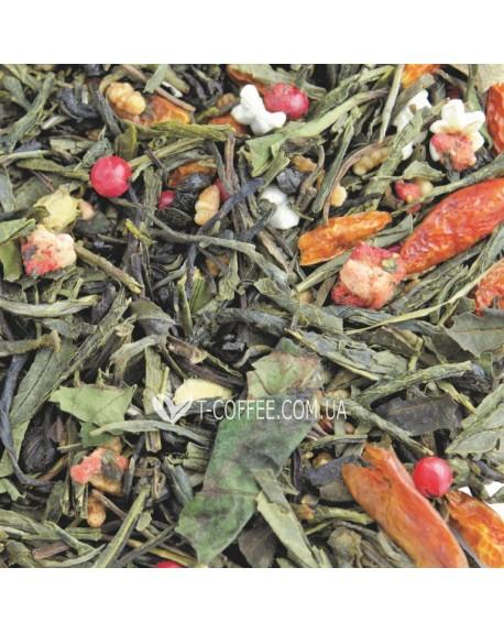 Ларец Пандоры купаж зеленого и белого чая Світ чаю