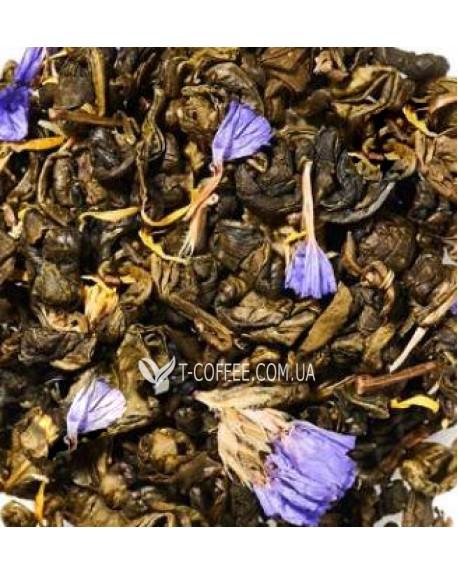 Зеленая Улитка Ягодная зеленый ароматизированный чай Країна Чаювання 100 г ф/п