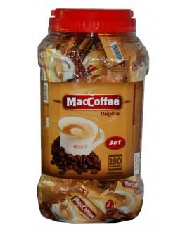 Кофе MACCOFFEE 3в1 Original Оригинал растворимый 160 х 20 г п/б (8887290140119)