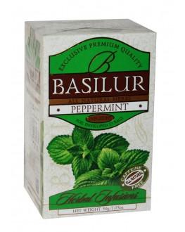 Чай BASILUR Peppermint Перцева М'ята - Трав'яні Збори 25 х 1,2 г (4792252922785)