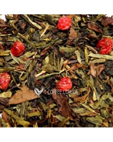 Сенча Ягодная зеленый ароматизированный чай Чайна Країна