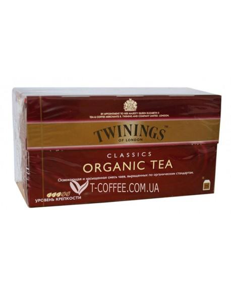 Чай TWININGS Classics ORGANIC TEA Черный классический Органик 25 х 2 г