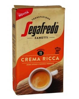 Кофе SEGAFREDO Crema Ricca молотый 225 г (8003410247838)