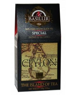 Чай BASILUR Special Особый - Чайный Остров 100 г к/п (4792252001145)
