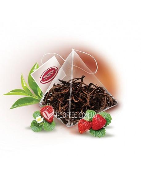 Земляника со Сливками зеленый ароматизированный чай Османтус 50 х 2 г