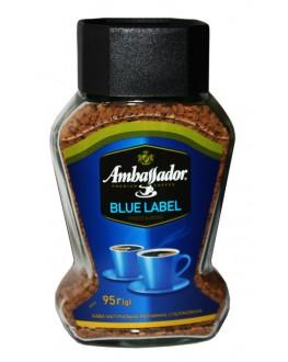 Кофе AMBASSADOR Blue Label растворимый 95 г ст. б. (7612654000669)