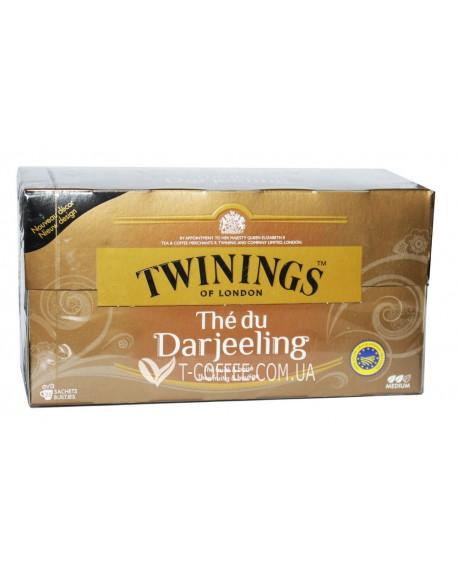 Чай TWININGS The du Darjeeling Дарджилинг 25 х 2 г (5055953902470)