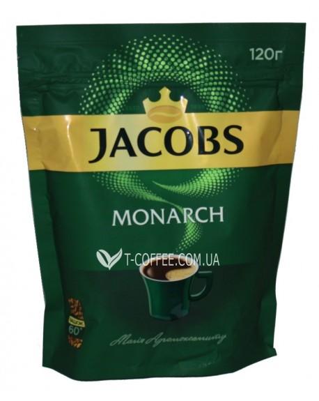 Кофе Jacobs Monarch растворимый 120 г эконом. пак. (4820187046525)