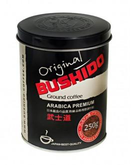 Кава BUSHIDO Original зернова 250 г ж/б