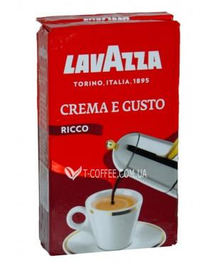 Кофе Lavazza Crema e Gusto Ricco молотый 250 г (8000070040014)