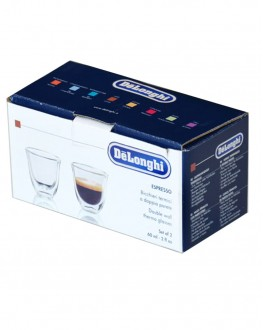 Набор стаканов DELONGHI для эспрессо 2 шт х 60 мл