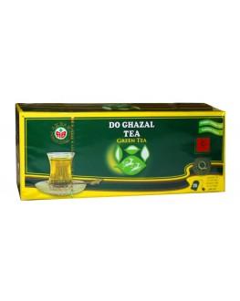 Чай AKBAR Do Ghazal Green Tea 25 x 2 г (4796002517443)