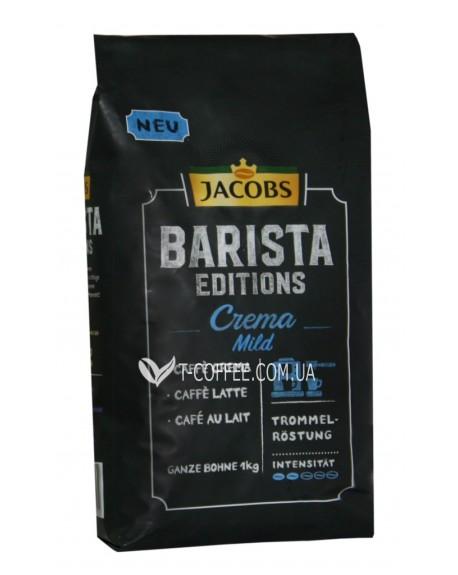 Кофе Jacobs Barista Edition Crema Mild зерновой 1 кг (8711000895252)