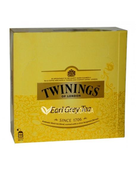 Чай TWININGS Earl Grey Tea Эрл Грей 100 х 2 г (070177090333)