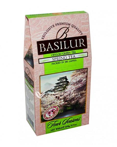 Чай BASILUR Spring Tea Весенний - Времена Года 100 г к/п (4792252915510)