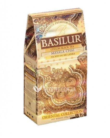 Чай BASILUR Masala Chai Масала - Восточная 100 г к/п (4792252916524)