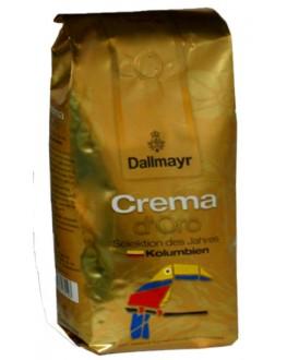 Кофе DALLMAYR Crema d'Oro Selection Des Jahres Kolumbien зерновой 1 кг (4008167035503)