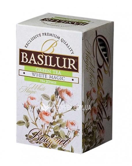 Чай BASILUR White Magic Белое Волшебство - Букет 20 х 1,5 г (4792252002128)