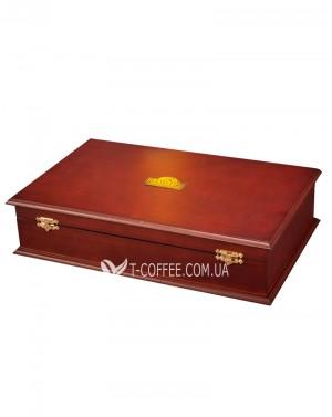 Шкатулка для чая BASILUR Wooden Boxes 24 ячейки