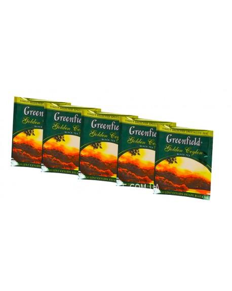 Чай Greenfield Golden Ceylon Цейлон 100 х 2 г эконом. упаковка
