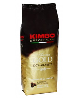 Кава KIMBO Aroma Gold 100% Arabica зернова 500 г (8002200102159)