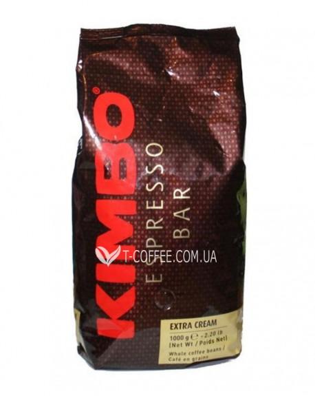 Кофе KIMBO Espresso Bar Extra Cream зерновой 1 кг (8002200140014)