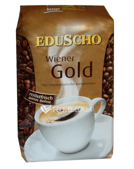 Кофе EDUSCHO Wiener Gold зерновой 500 г (9002338160051)
