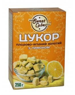 Сахар SWEET CUBES колотый кусковой с лимоном 250 г (4820191970038)
