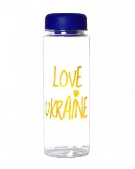 Бутылка Love Ukraine 500 мл