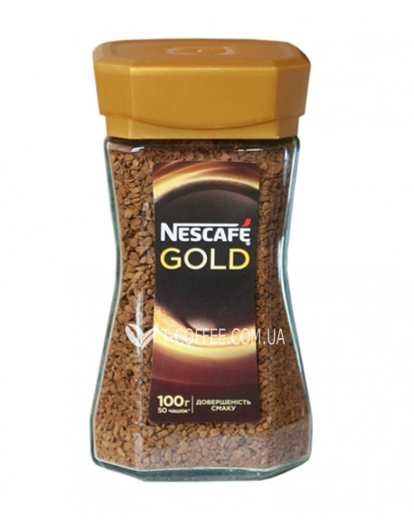 Кофе Nescafe Gold растворимый 200 г ст. б.