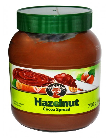 Шоколадная паста Oak Lane Haselnut Cocoa Spred 750 г (5051701066104)