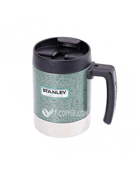 Термокружка Stanley Classic Camp зеленая 500 мл (4823082708321)