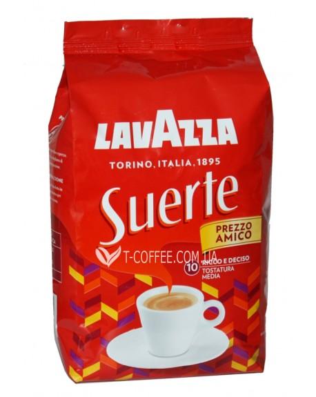 Кофе Lavazza Suerte зерновой 1 кг (8000070021747)