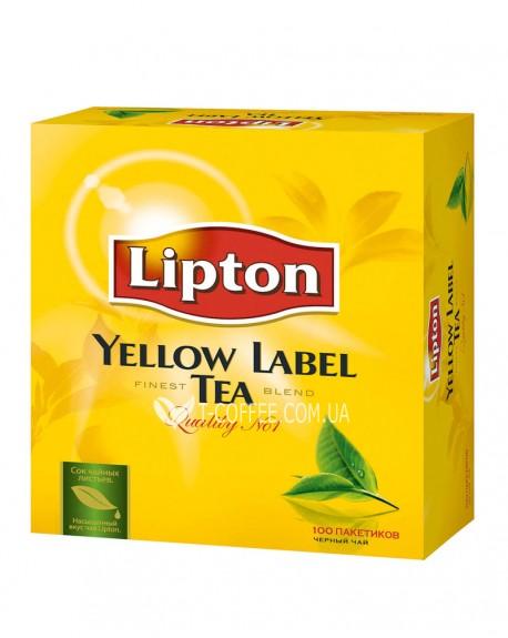 Чай Lipton Yellow Label черный 100 x 2 г