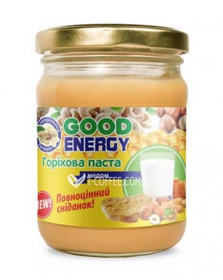 Ореховая паста Good Energy с медом 250 г