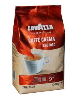 Кава LAVAZZA Caffe Crema Gustoso зернова 1 кг (8000070027701)