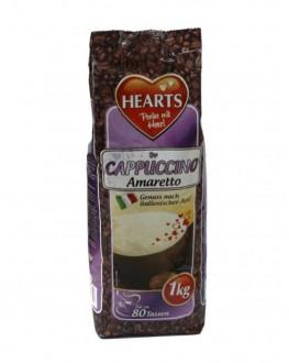 Капучино HEARTS Amaretto Амаретто 1 кг (4021155108553)