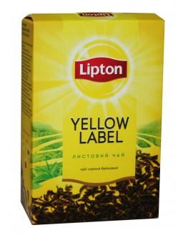 Чай LIPTON Yellow Label Чорний 80 г (4823084201936)