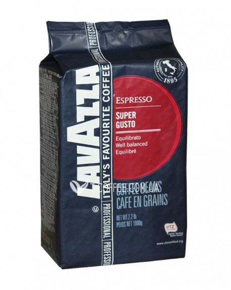 Кофе Lavazza Super Gusto Espresso зерновой 1 кг