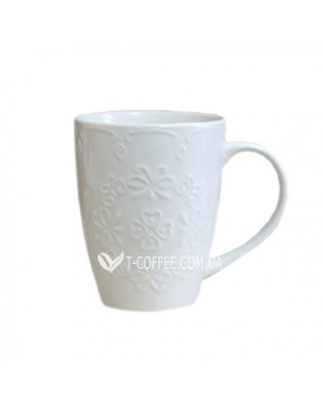 Чашка Белое Кружево 350 мл