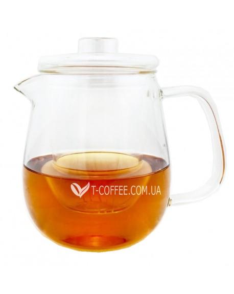 Чайник стеклянный Спокойствие 600 мл