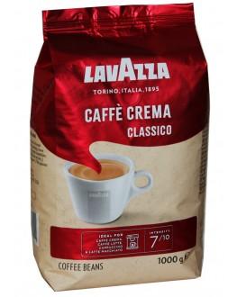 Кава LAVAZZA Caffe Crema Classico зернова 1 кг (8000070027411)