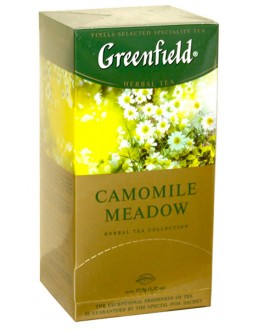 Чай GREENFIELD Camomile Meadow Ромашка 25 х 1,5 г (4823096802664)