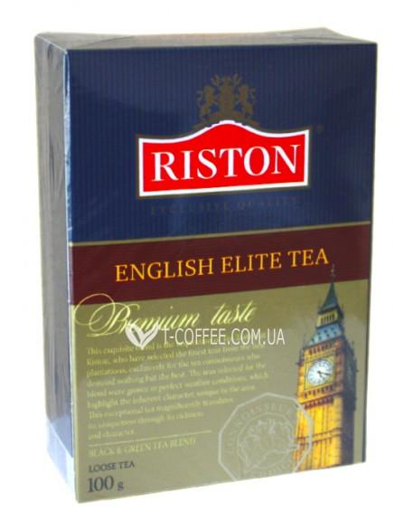 Чай Riston English Elite Элитный Английский 100 г к/п