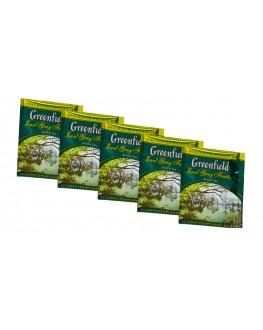 Чай GREENFIELD Earl Grey Fantasy Эрл Грей 100 х 2 г эконом. упаковка