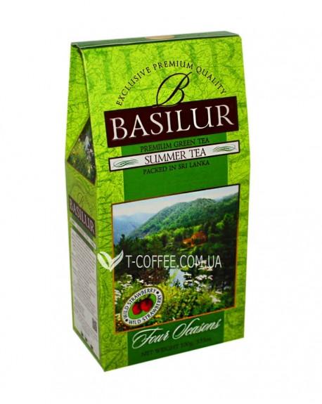 Чай BASILUR Summer Tea Летний - Времена Года 100 г к/п (4792252915497)