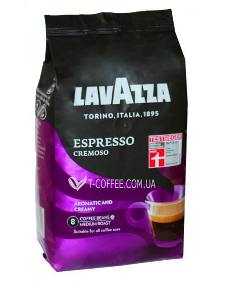 Кофе Lavazza Espresso Cremoso зерновой 1 кг (8000070027336)