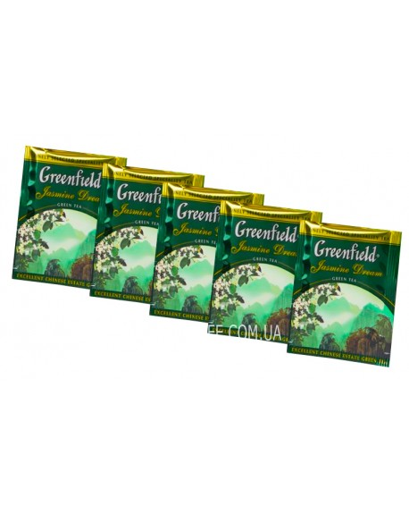 Чай Greenfield Jasmine Dream Зеленый с Жасмином 100 х 2 г эконом. упаковка