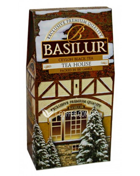 Чай BASILUR Tea House Чайный Домик - Домики 100 г к/п (4792252927278)