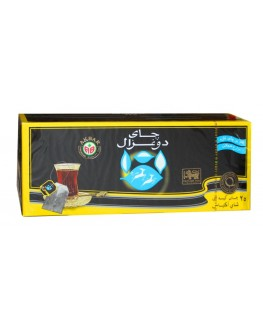 Чай AKBAR Do Ghazal Super Ceylon Earl Grey Tea 25 x 2 г (5014176003760)